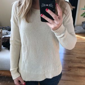 Madewell ivory sweater